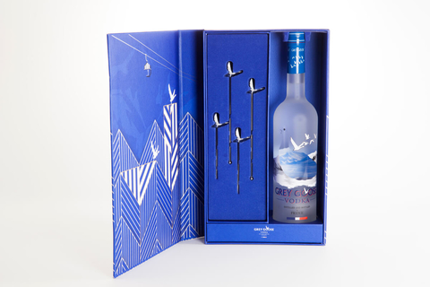 Grey Goose Vodka Holiday Gift Set - Booze & Baubles Holiday Gift Guide