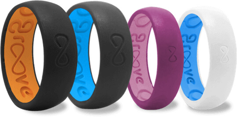 Groove Ring silicone active lifestyle rings - Booze & Baubles Holiday Gift Guide