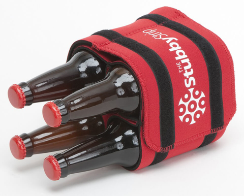 StubbyStrip Original neoprene drink holder and carrier - Booze & Baubles Holiday Gift Guide