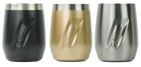 EcoVessel The Port stainless steel tumbler - Booze & Baubles Holiday Gift Guide