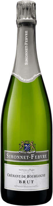 Simonnet-Febvre Crémant de Bourgogne Brut Blanc - 8 Types of Bubbly You & Your Guests Need to Know