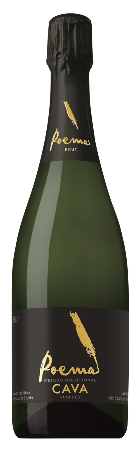 Poema Cava Brut Spanish sparkling wine - 8 Types of Bubbly You & Your Guests Need to Know