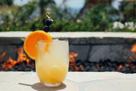 Tranquility cocktail at Terraanea Resort by Adam Stearns - Summer seasonal recipes