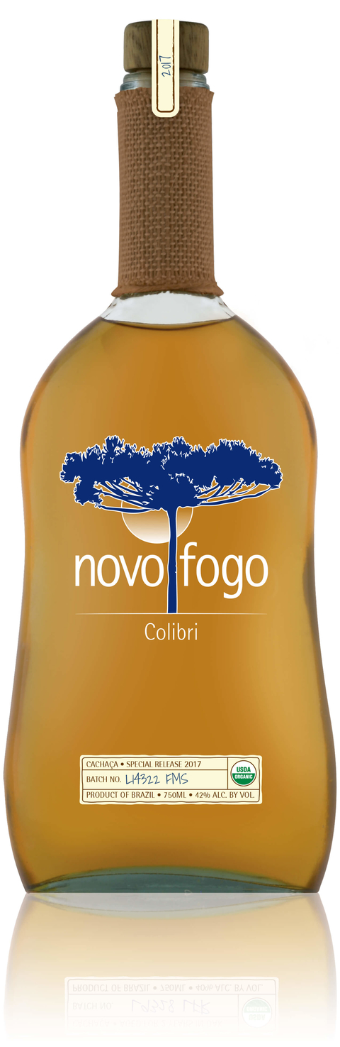 Novo Fogo Colibri​ cachaca - What's Shakin' week of October 2