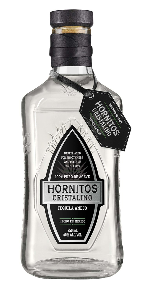 Hornitos Tequila Hornitos Cristalino crystal clear añejo - What's Shakin' week of October 2