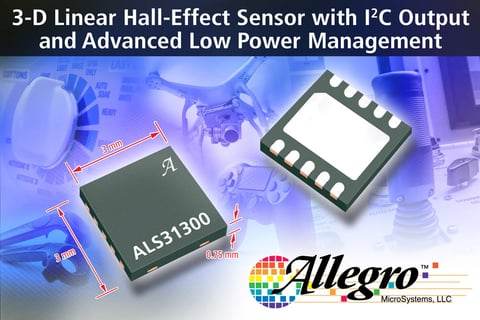 Allegro Hall-effect sensor IC
