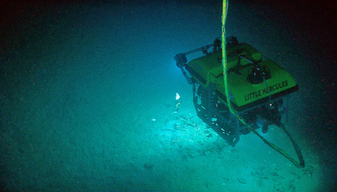 Fig 10: NOAA's Little Hercules uses visible lighting to illuminate its underwater environment.