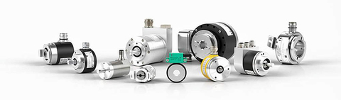 Fig 5: Pepperl+Fuchs manufactures a wide array of industrial-grade encoders, some of which are shown here.