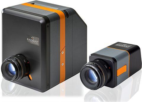 Fig 8: ProMetric I29 Imaging Colorimeters and ProMetric Y29 Imaging Photometers feature the KAI-29050 CCD. Radiant has found this to be optimal for high-precision measurements.