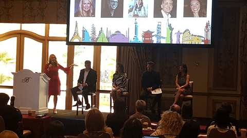 Virtuoso Travel Week panel
