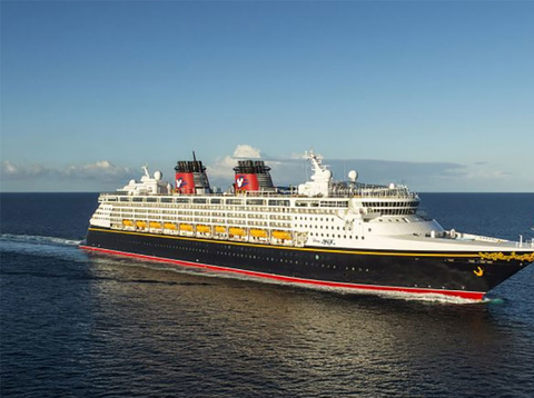 Exterior of Disney Magic