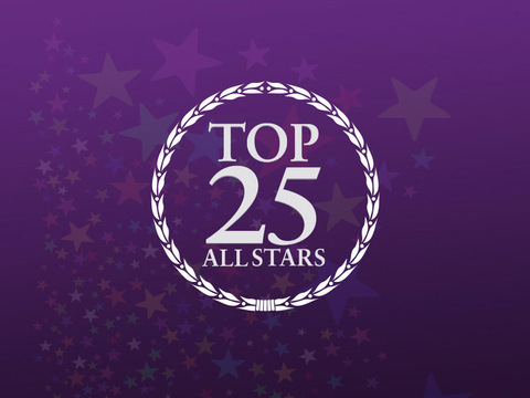 Top 25 All Stars Sign Up Header Image