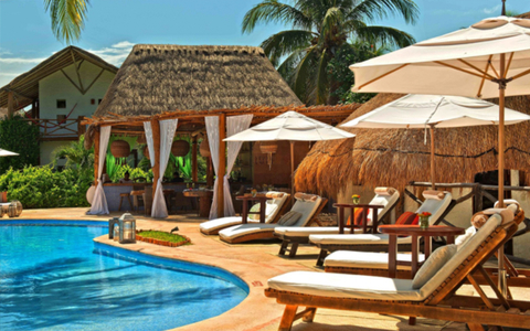 The Cool Pool Of Week Casasandra On Holbox Island Mexico