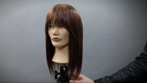 how to cut my hair into bangs