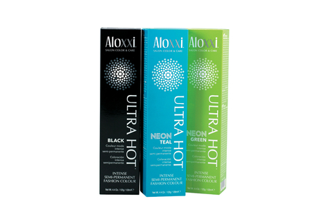 Aloxxi Ultra Hot Intense Semi-Permanent Fashion Colors