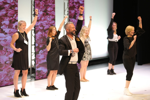 Aveda on-stage