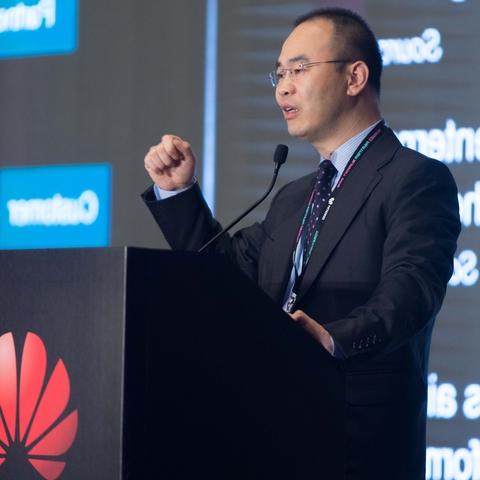 Steven Pan, managing director of enterprise business group at Huawei Hong Kong