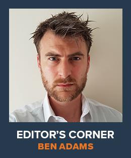 Ben Adams Editor's Corner Image