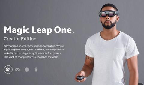 Magic Leap Unveils AR Goggles