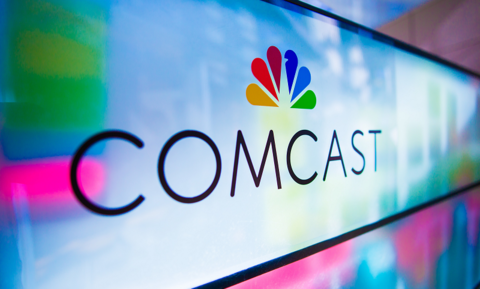 Comcast Corp (NASDAQ:CMCSA) Stock Price While Sentiment Crashed to 0.93