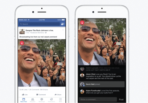 Facebook tests letting you rewind live videos as they stream