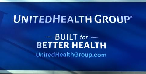 UnitedHealth sign