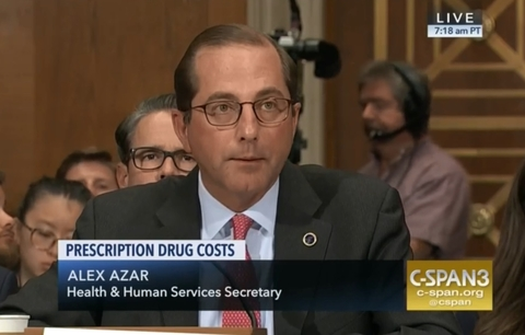 Sanders questions HHS secretary on drug prices