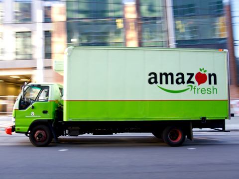 Amazon's grocery sales booming after Whole Foods acquisition
