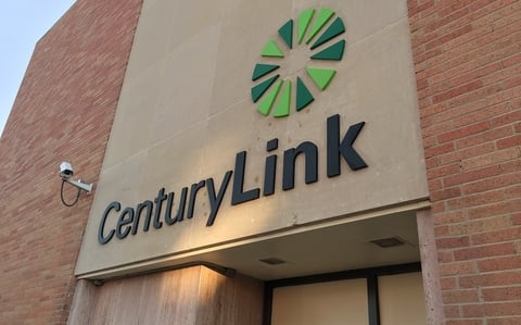 CenturyLink sign on building (free to use)