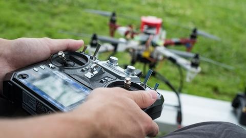 Rice drones