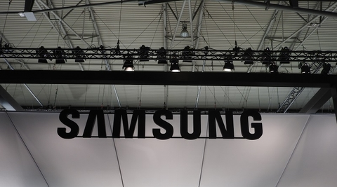 Samsung sign
