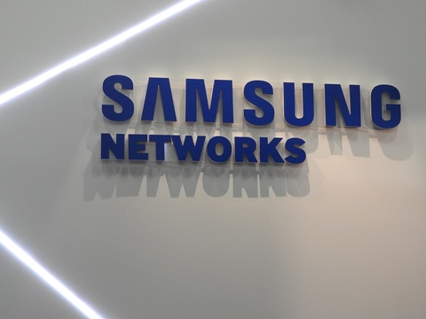 Samsung Networks sign