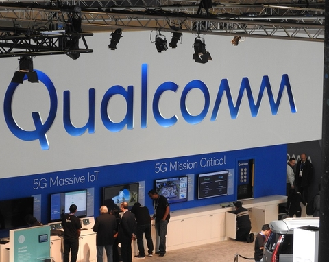 Qualcomm booth