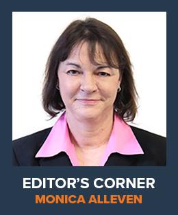 Monica Alleven Editor's Corner