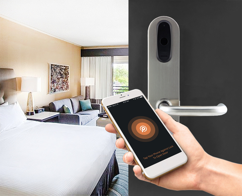 Mobile key is still cutting-edge technology so the hotel industry is on top of the curve. & Whatu0027s next in hotel door lock technology | Hotel Management