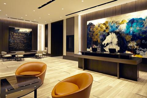 Hyatt Centric Loop Chicago Lobby
