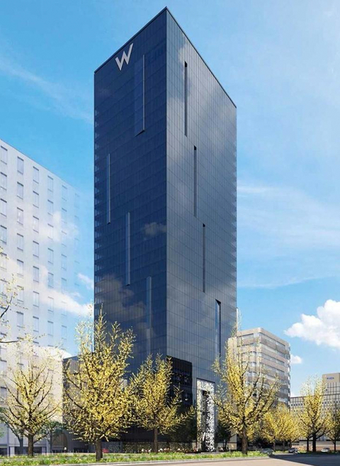 Marriott to open Tadao Ando-designed W hotel in Osaka in 2021.