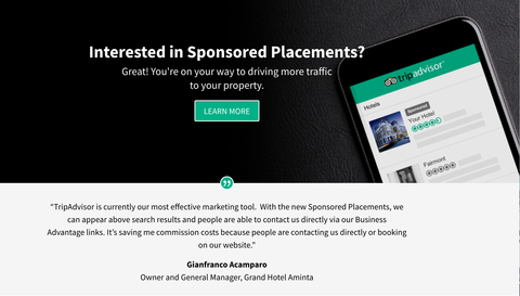 TripAdvisor Launches Sponsored Placements Program For Hotels