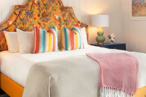 Louise Hurlbutt renovates newest hotel of the Kennebunkport Resort Collection.