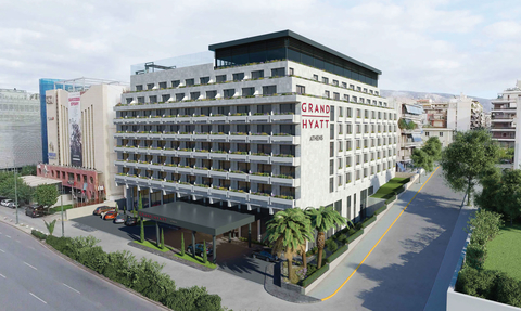 Hyatt Hotels has signed a franchise agreement with Henderson Park and Hines to open the Grand Hyatt Athens.