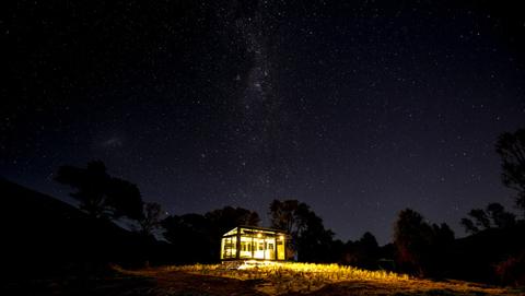 PurePod underneath the stars