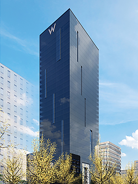 A rendering of W Osaka