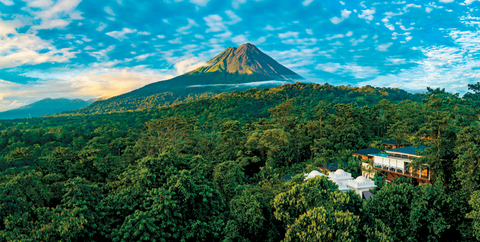 Nayara Springs Is Located At The Base Of Arenal Volcano