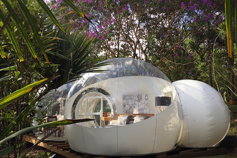 Off the Map Travel Bubble Hotel
