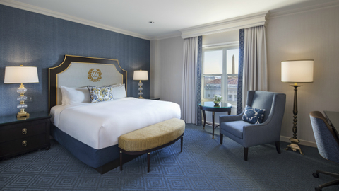 Willard InterContinental Washington DC Completes Renovation Luxury New Hotels With 2 Bedroom Suites In Washington Dc Style Remodelling