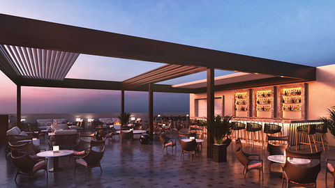 Cirrus 9 rooftop bar at The Oberoi, New Delhi