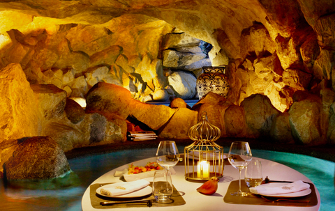 Dinner in the Grotto at Las Ventanas al Paraiso, A Rosewood Resort