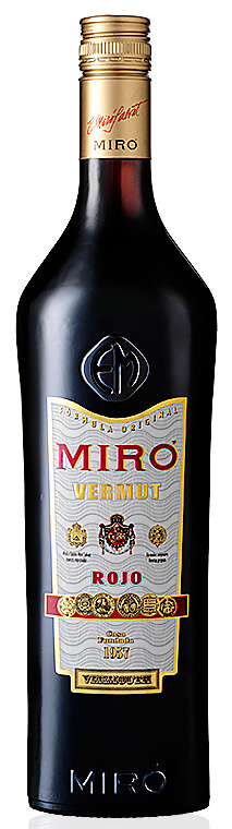 Miró Rojo Vermut bottle - Cooking with Vermouth