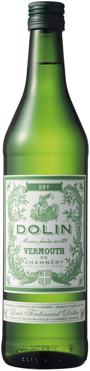 Dolin Dry Vermouth bottle - Cooking with Vermouth