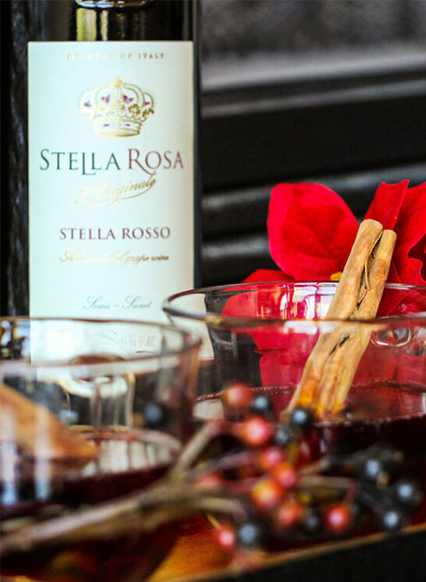 Stella Spice recipe from Stella Rosa - 18 Winter Cocktails for the New Year